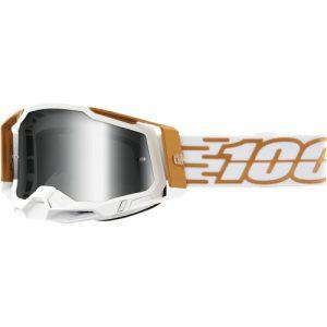 100% Brille Racecraft 2 Gold/Weiß