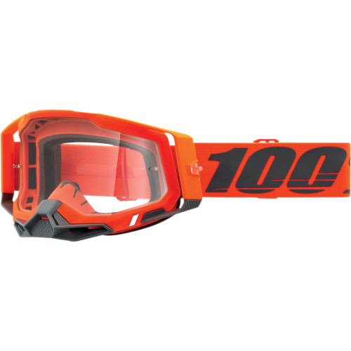 100% Brille Racecraft 2 Grau/Orange