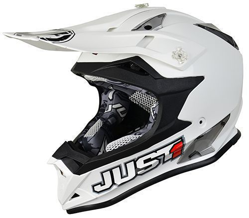 Just1 Helm J32 Pro Weiß
