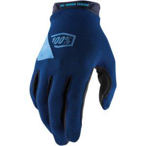 100% Ridecamp-Handschuhe Blau