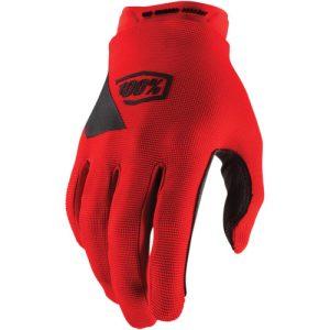 100% Ridecamp-Handschuhe Rot