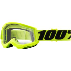 100% Strata 2 Jugend Schutzbrille Gelb