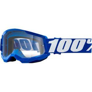 100% Strata 2 Jugend Schutzbrille Blau