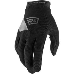 100% Ridecamp-Handschuhe Schwarz