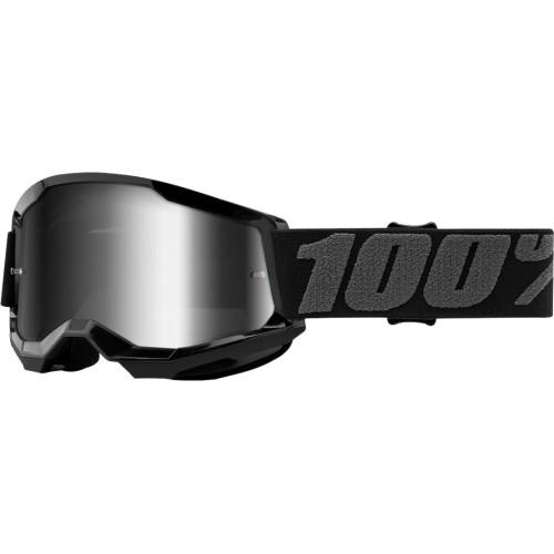 100% Strata 2 Jugend Schutzbrille Schwarz