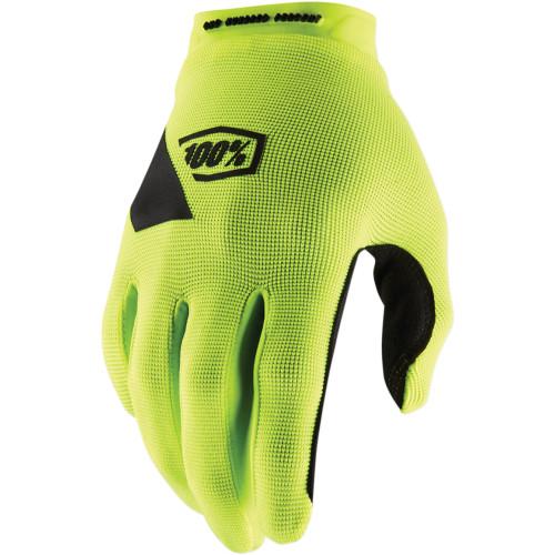 100% Ridecamp-Handschuhe Gelb