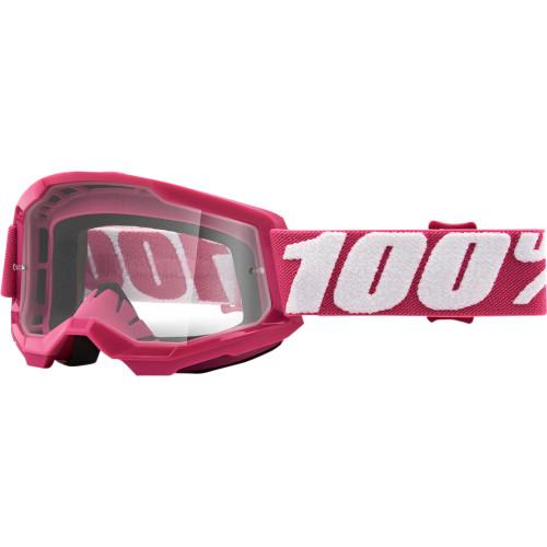 100% Strata 2 Jugend Schutzbrille Rosa