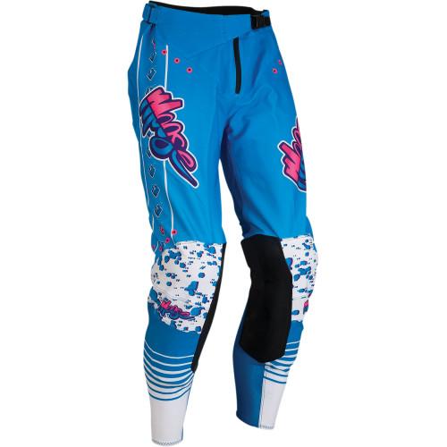 Moose Racing Hose Agroid Blau/Pink/Weiß