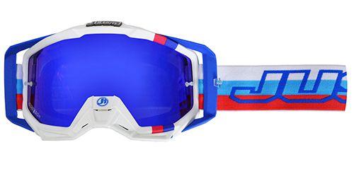 Just1 Brille Blau-Weiß