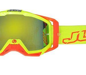 Just1 Brille Neon Gelb